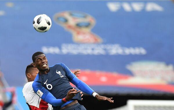 Хавбек сборной Франции Поль Погба