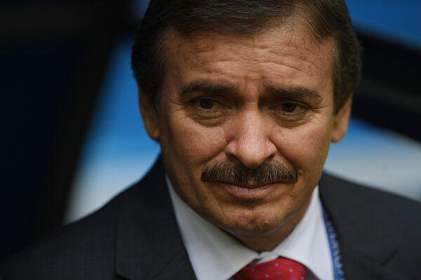 Главный тренер сборной Коста-Рики Оскар Рамирес