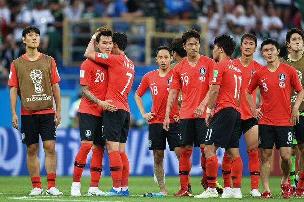 Игроки сборной Республики Корея