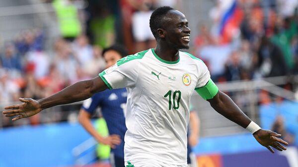 Нападающий сборной Сенегала Садио Мане