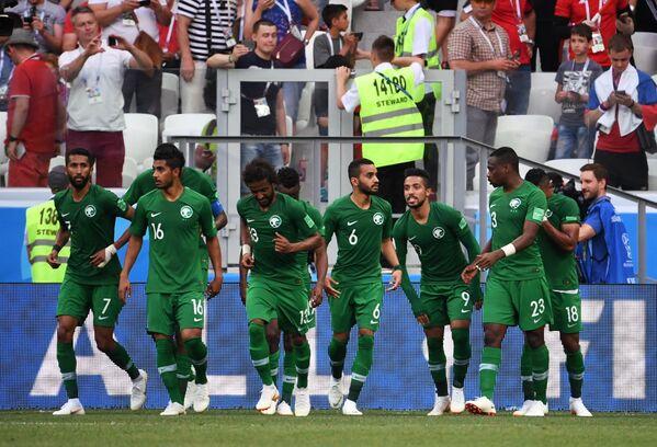 Футболисты Саудовской Аравии