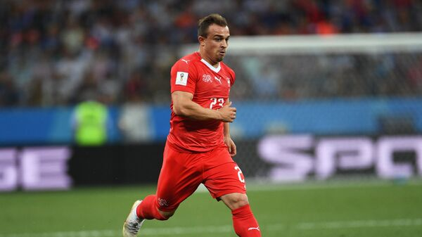 Полузащитник сборной Швейцарии Джердан Шакири