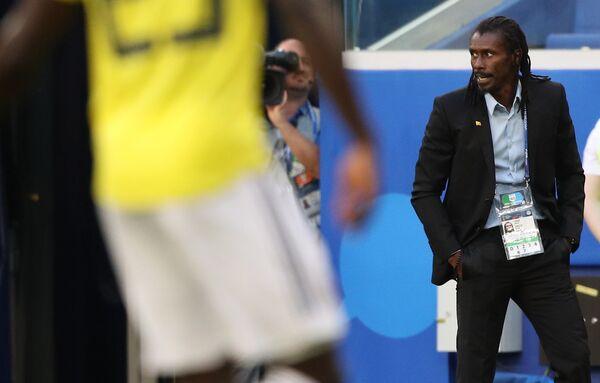 Главный тренер сборной Сенегала Алью Сиссе