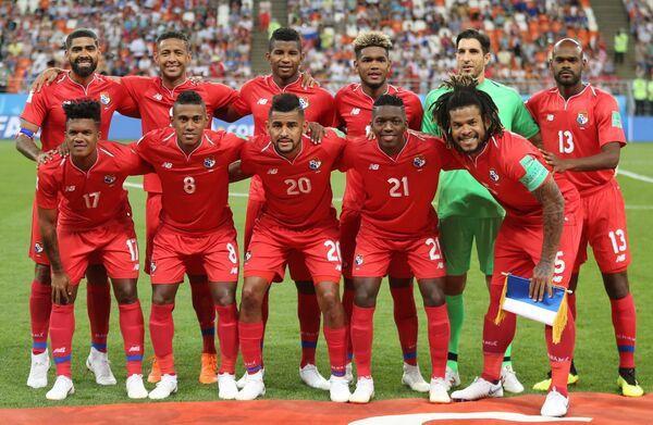 Футболисты сборной Панамы