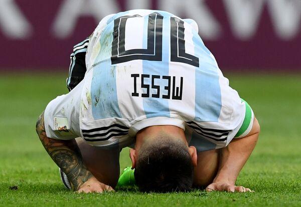 Аргентинский нападающий Лионель Месси