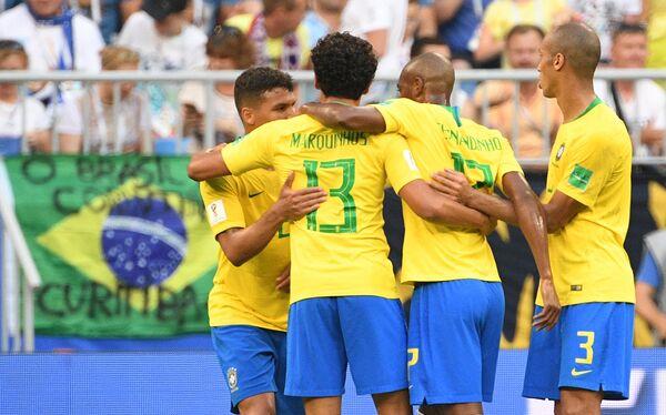 Футболисты сборной Бразилии