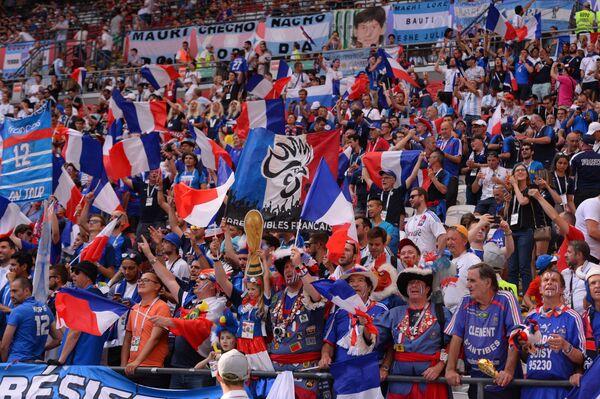 Болельщики сборной Франции. Архивное фото