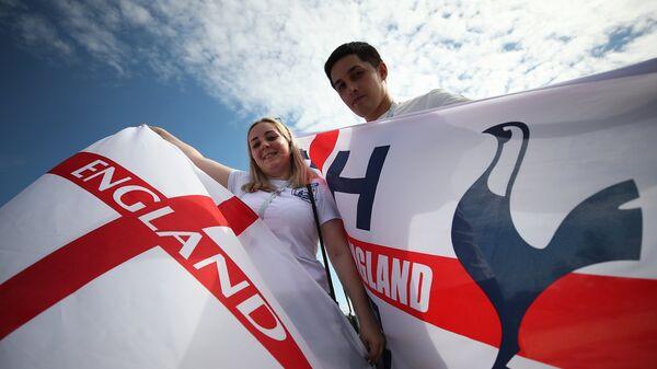 Болельщики сборной Англии в Самаре