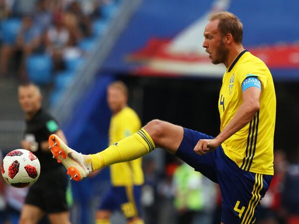 Защитник сборной Швеции Андреас Гранквист