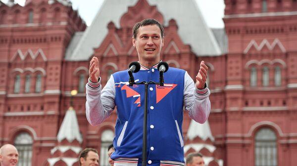 Двукратный олимпийский чемпион по боксу Олег Саитов
