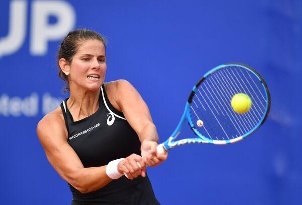 Немецкая теннисистка Юлия Гёргес