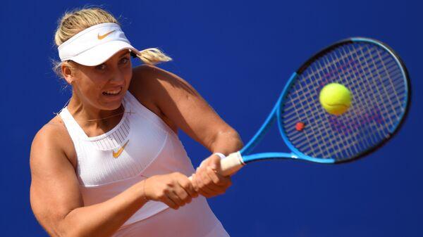 Теннисистка Анастасия Потапова