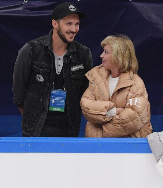 Тренеры Максим Траньков и Елена Буянова (Водорезова)