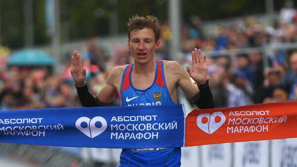 Победитель Московского марафона-2018 Степан Киселев