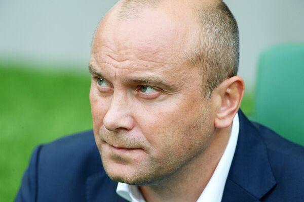 Главный тренер Динамо Дмитрий Хохлов