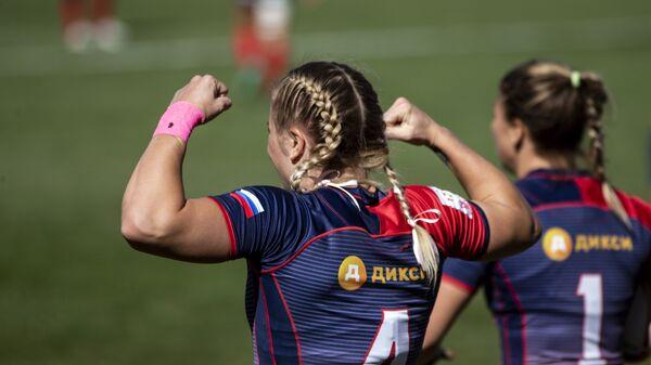 Капитан женской сборной России по регби-7 Алена Михальцова