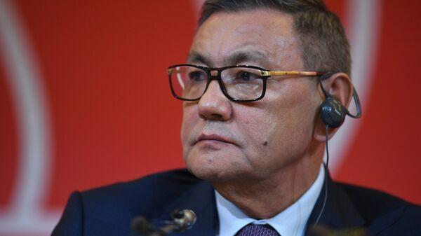 Гафур Рахимов избран президентом Международной ассоциации любительского бокса