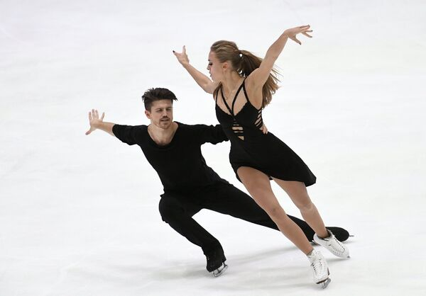 Фигурное катание. Гран-при Финляндии. Танцы. Произвольная программа