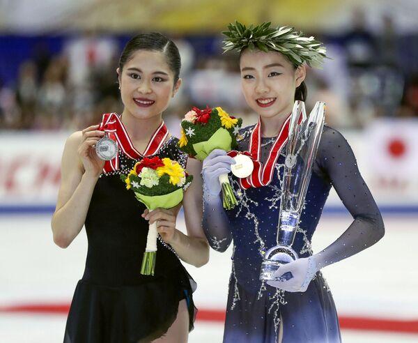 Сатоко Мияхара и Рик Кихира (слева направо)