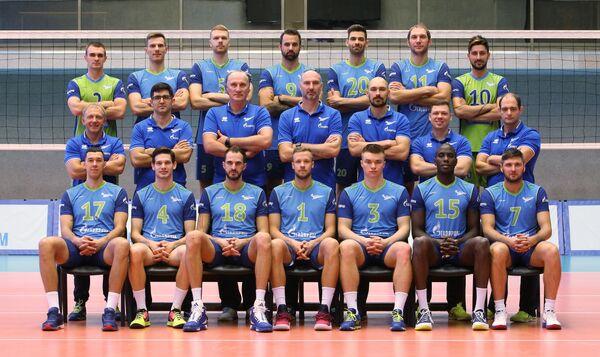 Игроки и тренеры ВК Зенит (Санкт-Петербург)