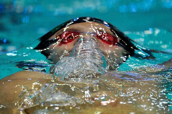 Плавание. Чемпионат России. Второй день