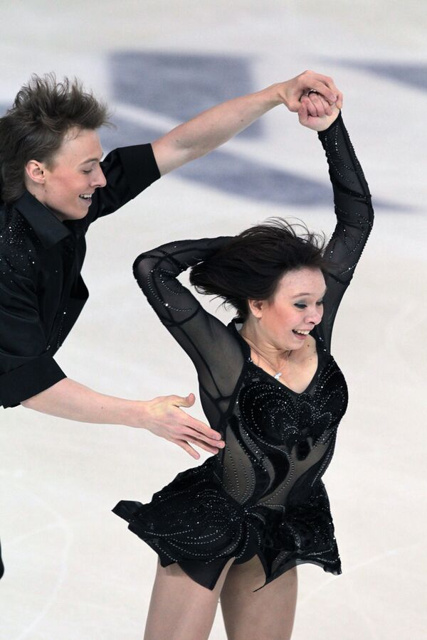 Валерия Старыгина и Иван Волобуев