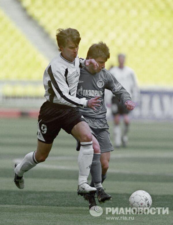 Футболисты Алексей Бугаев и Андрей Аржавин