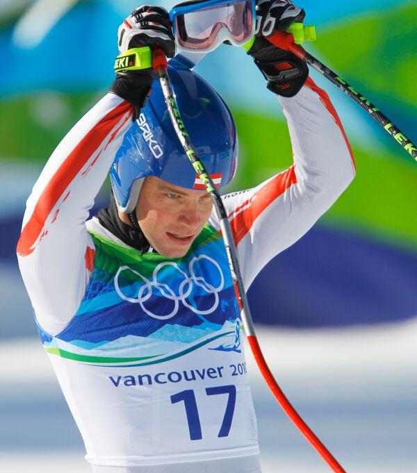 Олимпиада - 2010. Горные лыжи. Мужчины. Супергигантский слалом