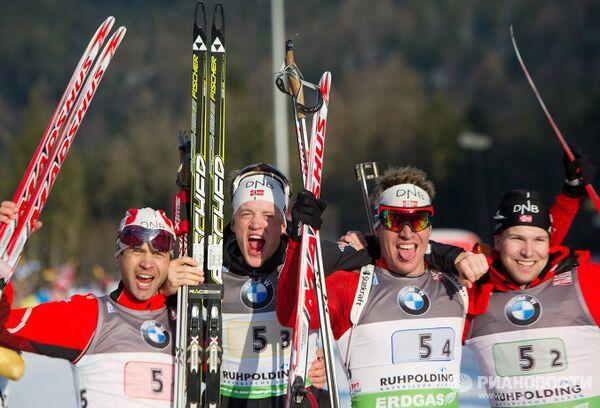 Норвежская сборная по биатлону
