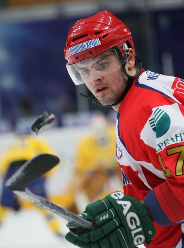 Нападающий сборной России по хоккею Александр Радулов. Архив