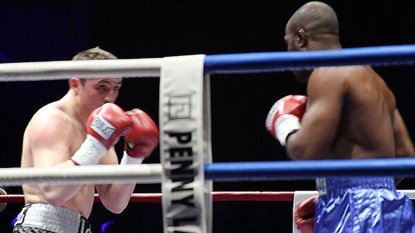 Хук слева и нокаут. Лучшие моменты боя Лебедева против Кокса