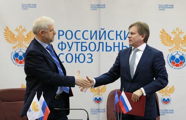 Сергей Фурсенко и Виталий Савельев