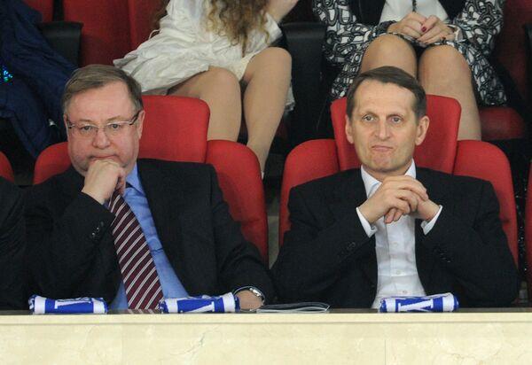 Сергей Степашин (слева) и Сергей Нарышкин