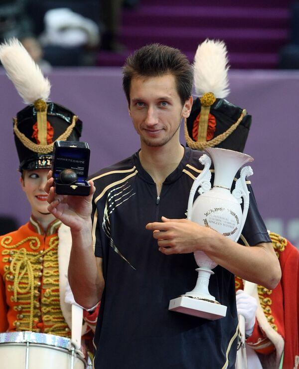 Украинский теннисист Сергей Стаховский