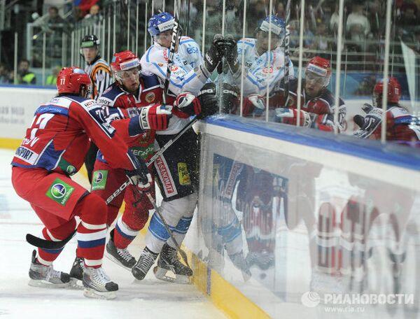 Игровой момент матча Финляндия – Россия