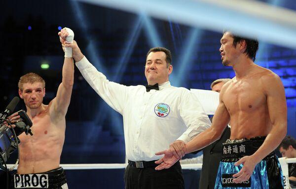 Дмитрий Пирог (слева) и Нобухиро Исида