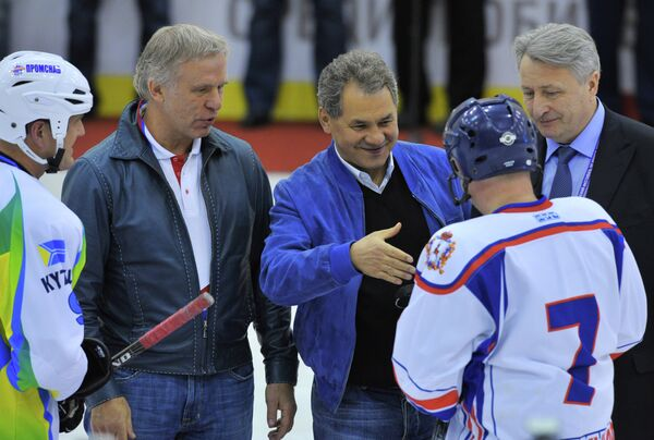 Открытие Всероссийского хоккейного фестиваля
