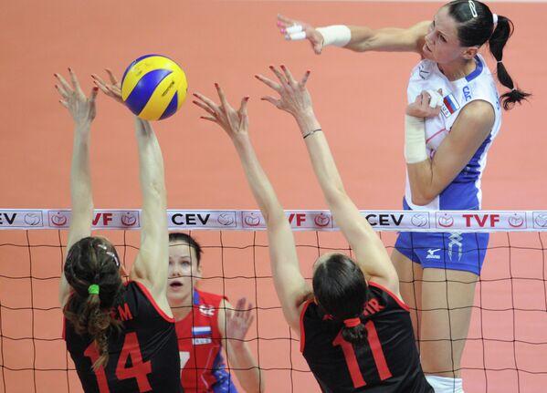 Волейбол. Квалификация ОИ-2012. Матч Турция - Россия