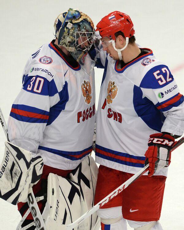 Константин Барулин и Сергей Широков (слева направо)