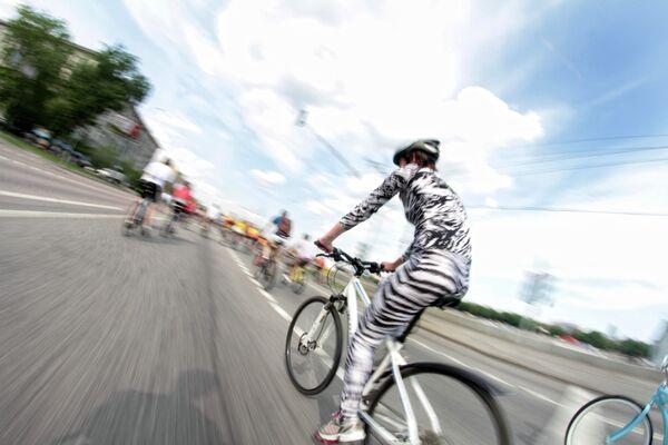 Велопарад Let's bike в Москве