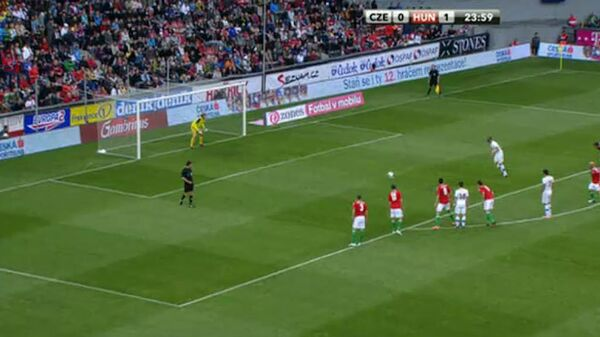 Футболисты сборной Венгрии обыграли команду Чехии в контрольном матче перед началом Евро-2012