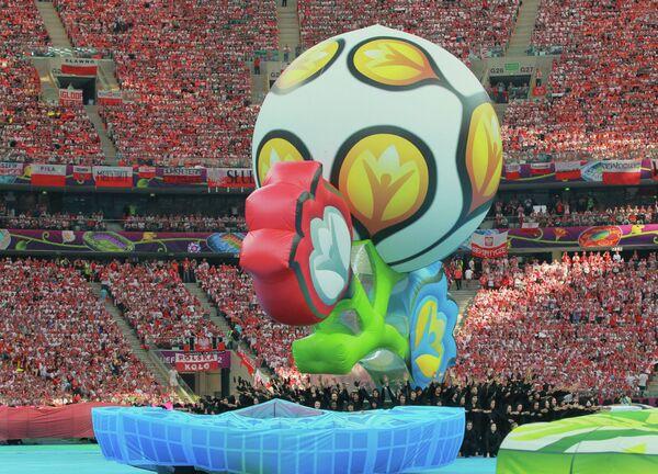 Церемония открытия чемпионата Европы