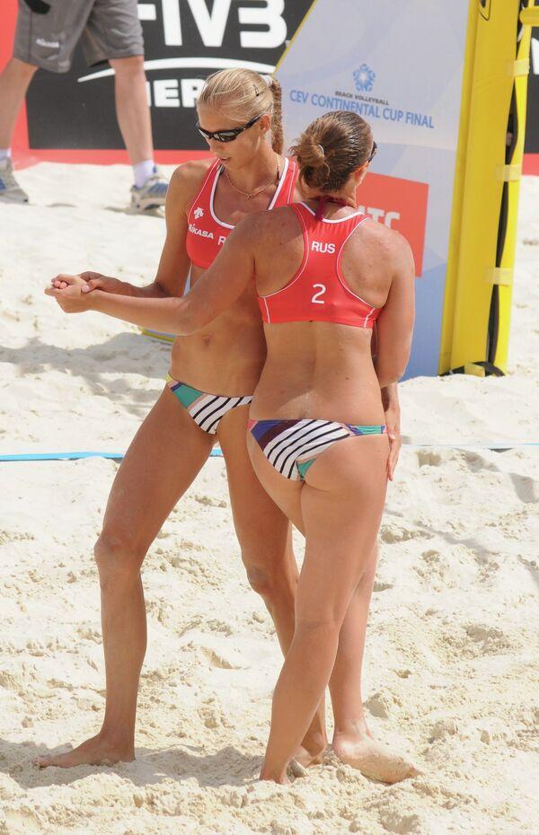Анастасия Васина (слева) и Анна Возакова