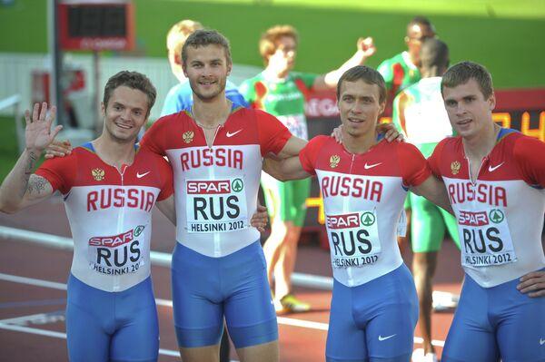 Михаил Идрисов, Константин Петряшов, Вячеслав Колесниченко и Павел Караваев (слева направо)