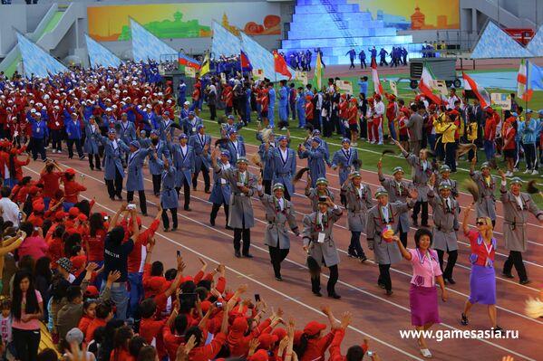 Церемония открытия V МСИ Дети Азии в Якутске