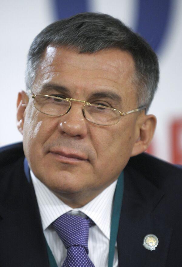 Рустам Минниханов. Архив
