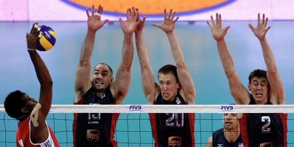 Волейболисты сборной США по волейболу