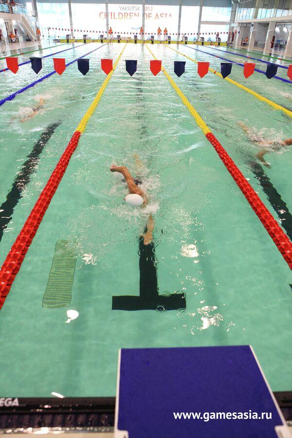Соревнования по плаванию на V МСИ Дети Азии
