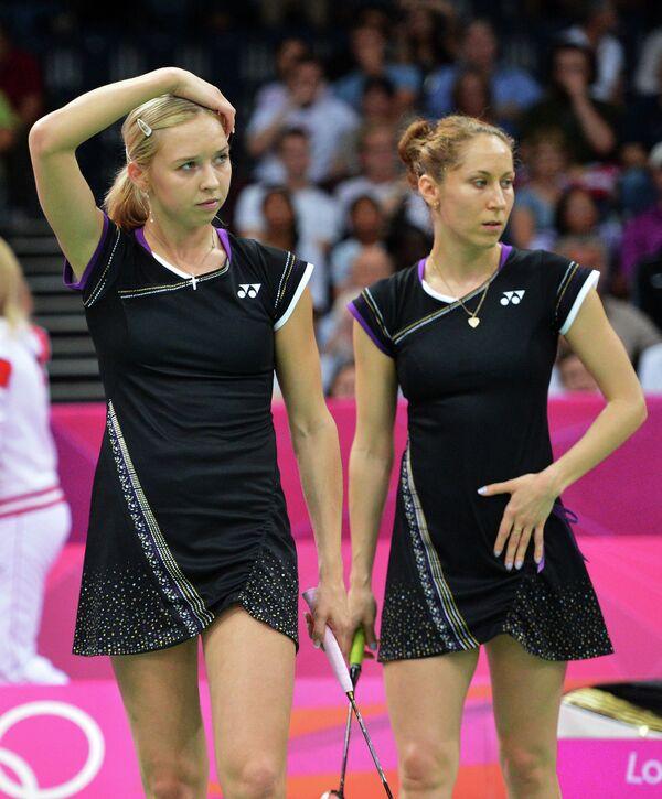 Нина Вислова и Валерия Сорокина (слева направо)