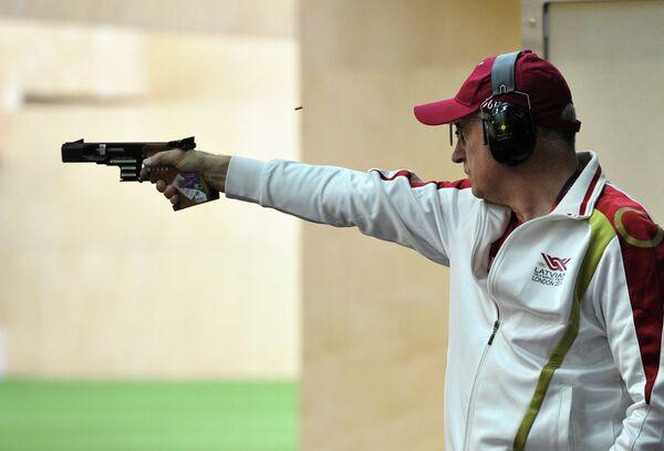 ОИ - 2012. Стрельба. Скоростной пистолет. Мужчины